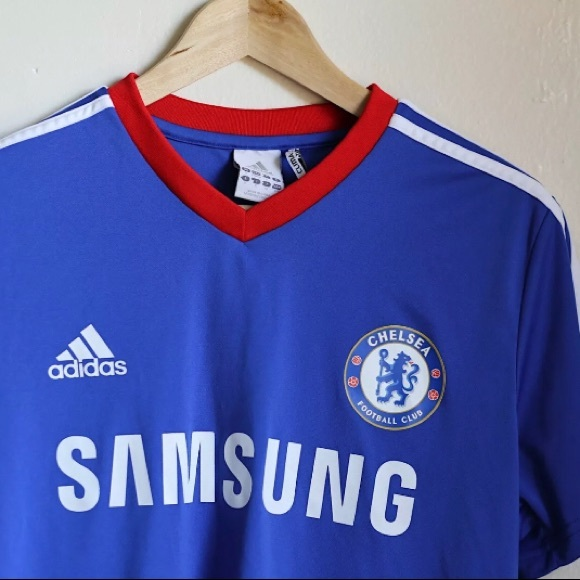 on sale d6acd db6a6 Small Adidas Climate Chelsea Men's Jersey